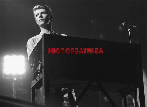David Bowie 1978<br /> © Chris Walter