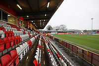 General view ahead of kick-off during Stevenage vs Leyton Orient, Sky Bet League 2 Football at the Lamex Stadium, Stevenage, England on 02/01/2016