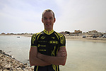 Ireland's David McCann RTS Racing Team before the start of Stage 4 of the 2012 Tour of Qatar from Al Thakhira to Madinat Al Shamal, Qatar. 8th February 2012.<br /> (Photo Eoin Clarke/Newsfile)