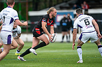 James Meadows of London Broncos during the Betfred Championship match between London Broncos and Newcastle Thunder at The Rock, Rosslyn Park, London, England on 9 May 2021. Photo by Liam McAvoy.