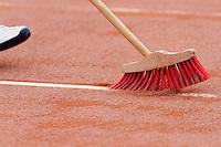 15-09-12, Netherlands, Amsterdam, Tennis, Daviscup Netherlands-Suisse,Line sweeping
