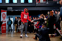 Washington, DC - Sunday JAN 26, 2020: DC Defenders running back Johnathan Thomas (20) is introduced to the fans at the DC Defenders open house at  Audi Field in Washington, DC. (Photo by Phil Peters/Media Images International)