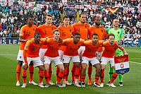 Guimaraes, Portugal - Thursday, June 6, 2019: Netherlands Starting Eleven poses for the photo before the match. Netherlands beat England 3-1 in overtime to reach the final of UEFA Nations League 2019 at D. Afonso Henriques Stadium in Guimaraes.