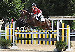 12 July 2009: Hawley Bennett-Awad riding Gin N Juice during the showjumping phase of the CIC 3* Maui Jim Horse Trials at Lamplight Equestrian Center in Wayne, Illinois.