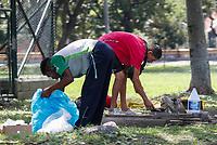 MEDELLIN - COLOMBIA, 20-04-2020: Medellín durante el día 28 de la cuarentena total en el territorio colombiano causada por la pandemia  del Coronavirus, COVID-19. / Medellin of during day 28 of total quarantine in Colombian territory caused by the Coronavirus pandemic, COVID-19. Photo: VizzorImage / Leon Monsalve / Cont