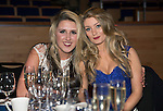 St Johnstone FC Hall of Fame Dinner, Perth Concert Hall….03.04.16<br />Dannielle Millar andSophie Rhynell<br />Picture by Graeme Hart.<br />Copyright Perthshire Picture Agency<br />Tel: 01738 623350  Mobile: 07990 594431