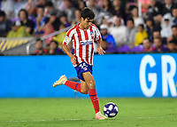 Orlando, FL - Wednesday July 31, 2019:  Manu Sánchez #35 during the Major League Soccer (MLS) All-Star match between the MLS All-Stars and Atletico Madrid at Exploria Stadium.
