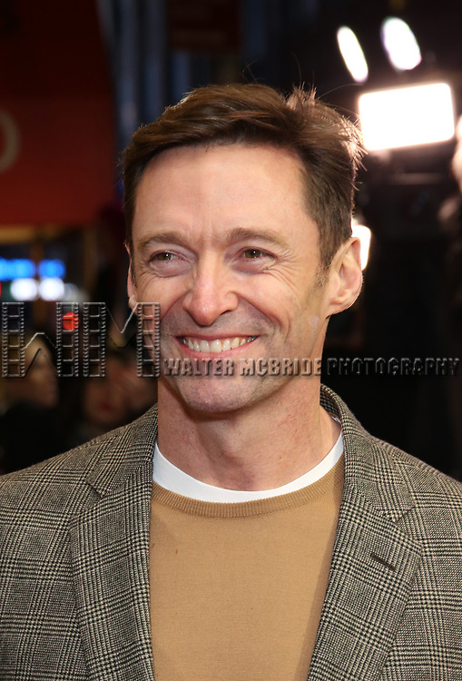 """Hugh Jackman attends the Broadway Opening Night Performance of """"To Kill A Mockingbird"""" on December 13, 2018 at The Shubert Theatre in New York City."""