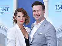 """01 September 2021 - West Hollywood, California - Cobie Smulders, Taran Killam. FX's """"Impeachment: American Crime Story"""" Premiere held at The Pacific Design Center. Photo Credit: Billy Bennight/AdMedia"""
