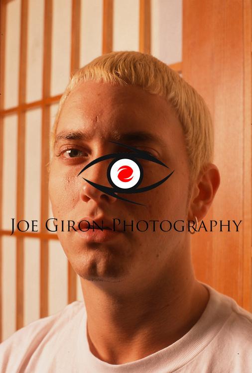 Various portrait sessions & live photographs of rapper, Eminem.