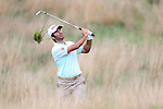 Jorge Campillo Iniguez plays from the deep rough on the 17th during the second round of the ISPS Handa Wales Open 2013 at the Celtic Manor Resort<br /> <br /> 30.08.13<br /> <br /> ©Steve Pope-Sportingwales