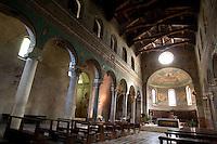 L'interno del Duomo di Chiusi.<br /> Interior of the Cathedral of Chiusi.<br /> UPDATE IMAGES PRESS/Riccardo De Luca