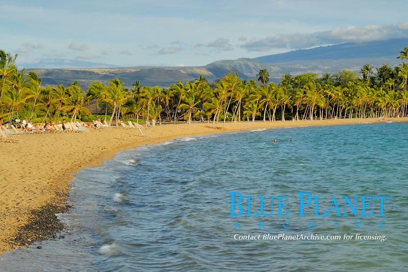 Anehalamehalu bay, Waikoloa Beach, The Big Island of Hawaii