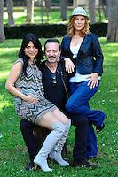 Claudia POTENZA, Rocco PAPALEO, Michela ANDREOZZI.Roma 6/4/2010 Casa del Cinema Villa Borghese.Basilicata Coast to Coast - Photocall.Foto Andrea Staccioli Insidefoto