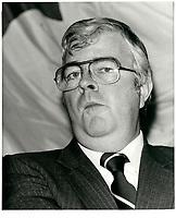 John Crosbie, 19 dec 1979<br /> <br /> <br /> PHOTO :   Agence Quebec Presse
