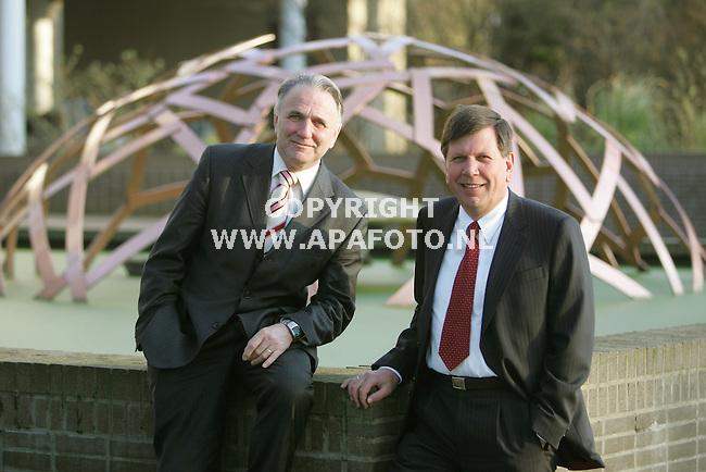 Arnhem, 080307<br /> Directie KEMA. Pier Nabuurs en Thijs Aarten.<br /> Foto: Sjef Prins - APA Foto