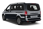 Car pictures of rear three quarter view of 2021 Mercedes Benz Vito-Tourer - 5 Door Passenger Van Angular Rear