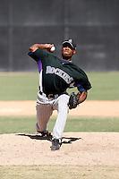 Alberto Alburqueque - Colorado Rockies, 2009 Instructional League.Photo by:  Bill Mitchell/Four Seam Images..