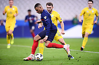 24th March 2021; Stade De France, Saint-Denis, Paris, France. FIFA World Cup 2022 qualification football; France versus Ukraine;   KYLIAN MBAPPE (FRA)