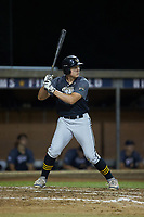 Ethan English (37) (John A Logan College) of the Wilson Tobs at bat against the High Point-Thomasville HiToms at Finch Field on July 17, 2020 in Thomasville, NC. The Tobs defeated the HiToms 2-1. (Brian Westerholt/Four Seam Images)
