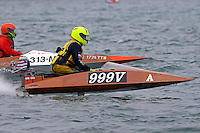 999-V and 313-M  (Outboard Marathon Runabout)<br /> <br /> Trenton Roar On The River<br /> Trenton, Michigan USA<br /> 17-19 July, 2015<br /> <br /> ©2015, Sam Chambers