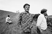 Bisericani, Transylvania<br /> Romania<br /> April 29, 1992<br /> <br /> Cultivating and planting