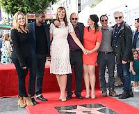Allison Janney + cast of The West Wing @ her Walk of Fame ceremony held @ 6100 Hollywood blvd. October 17, 2016