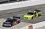 Noah Gragson, Kyle Busch Motorsports, Toyota Tundra Safelite, Matt Crafton, ThorSport Racing, Ford F-150 Ideal Door/Menards