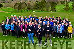 Killorglin Golf Club members met on Sunday morning for the Captains' Drive In<br /> Front L-R: Club President Rick Sheehy, Ladies Captain Maura Kennedy, Mens Captain Donal Lynch