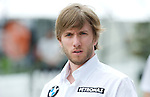 02 Apr 2009, Sepang Circuit, Kuala Lumpur, Malaysia --- BMW Sauber F1 Team driver Nick Heidfeld of Germany during the 2009 Fia Formula One Malasyan Grand Prix at the Sepang circuit near Kuala Lumpur. Photo by Victor Fraile --- Image by © Victor Fraile / The Power of Sport Images