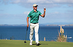 Harry Bateman in action during The Clubhouse Gulf Harbour Golf Open, Gulf Harbour, Auckland, New Zealand, Sunday 4 April 2021 Photo: Simon Watts/www.bwmedia.co.nz