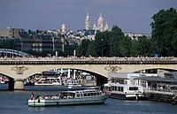 Europe/France/Ile-de-France/75015/Paris: Le pont Iéna et le Sacré Coeur