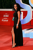 The Venezuelan actress Ira Fronten poses for photographers on the red carpet of the 15th edition of Rome film Fest.<br /> Rome (Italy), October 15th 2020<br /> Photo Samantha Zucchi Insidefoto