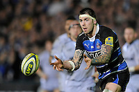 Ryan Caldwell of Bath Rugby in action during the LV= Cup semi final match between Bath Rugby and Leicester Tigers at The Recreation Ground, Bath (Photo by Rob Munro, Fotosports International)