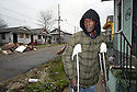 Arthur Francois says his  7th Ward neighborhood in New Orleans shows little signs of life, Fri., Jan. 19, 2007....