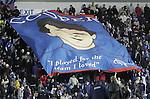 Davie Cooper flag tribute, 27th December 2004