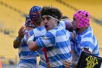 Wellington 1st XV Premiership Final - Scots College v St Patrick's College, Silverstream at Sky Stadium, Wellington, New Zealand on Sunday 26 September 2021. <br /> Photo by Masanori Udagawa. <br /> www.photowellington.photoshelter.com