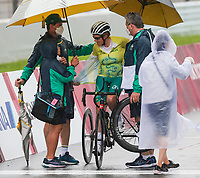 Australia's Carol Cooke during the T1-2 Road Race on day 09 of the 2020 Tokyo Paralympic Games.<br /> Paralympics Australia / Day 09<br /> Tokyo Japan: Thursday 2 Sep 2021<br /> © Sport the library / Greg Smith / PA