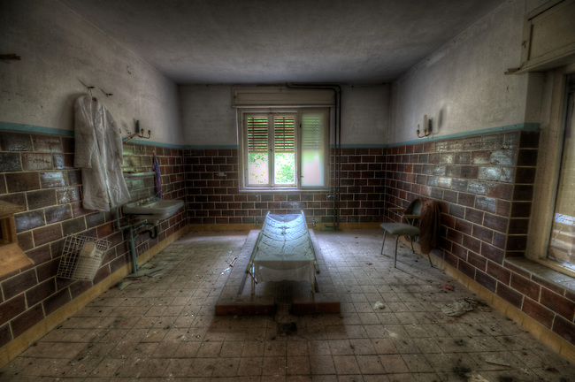 Old mortuary in Germany