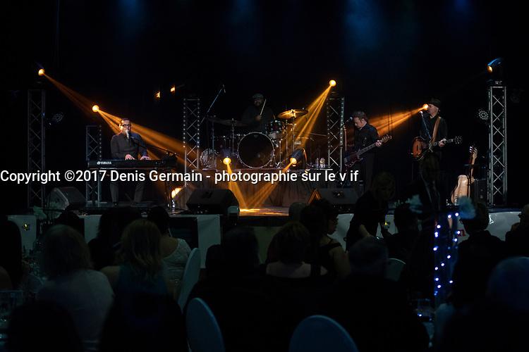 Gregory Charles <br /> en spectacle, avril 2018.<br /> <br /> PHOTO :  Agence Quebec Presse