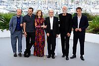 70EME FESTIVAL DE CANNES - Photocall du film<br /> HAPPY END En présence duréalisateur Michael HANEKE (Autriche ).<br /> Des actrices Isabelle HUPPERT,Nabiha AKKARI,La ura VERLINDEN, Loubna ABIDAR & Fantine HARDUIN.<br /> Et des acteurs Mathieu KASSOVITZ, Toby JONES, Jean- Louis TRINTIGNANT,Franz HARDUIN & Hassam GHANCY
