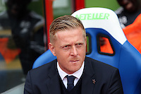 Pictured: Swansea manager Garry Monk<br /> Re: Premier League match between Crystal Palace and Swansea City at Selhurst Park on Sunday 24 May 2015 in London, England, UK