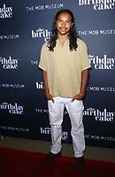 "11 June 2021 - Las Vegas, NV - tyler Dean Flores.  VIP World Premiere Screening  of ""The Birthday Cake"" at The Mob Museum Las Vegas. Photo Credit: mjt/AdMedia"