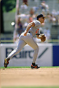 CIRCA 1997: Cal Ripken Jr.  #8  of the Baltimore Orioles fielding during a game from his 1997 season with the Baltimore Orioles. Cal Ripken Jr. played for 21 years, all with the the Baltimore Orioles, was a 19-time All Star, 2-time American League MVP and elected to the Baseball Hall of Fame in 2007..(Photo by: 1997 SportPics)  *** Local Caption *** Cal Ripken Jr
