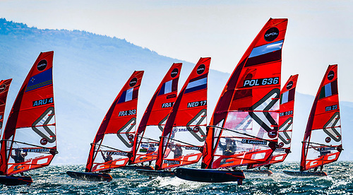 The provisional iQFOiL ranking at the end of Day One  is a French affair, they occupy all top three spots in the Men