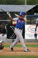 Bryan Lizardo participates in the Dominican Prospect League showcase at the New York Yankees academy on September 19,2013 in Boca Chica, Dominican Republic.