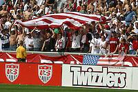 USA fans, Uruguay vs USA, 2002.