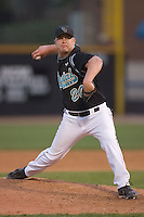 Starting pitcher Bobby Gagg #20 of the Coastal Carolina Chanticleers in action versus the Wake Forest Demon Deacons at Wake Forest Baseball Park April 8, 2009 in Winston-Salem, North Carolina. (Photo by Brian Westerholt / Four Seam Images)