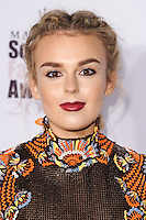 Tallia Storm<br /> at the Scottish Fashion Awards 2016, Rosewood Hotel, London.<br /> <br /> <br /> ©Ash Knotek  D3186  21/10/2016