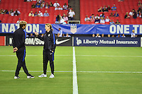 Atlanta, GA - Sunday Sept. 18, 2016: Jill Ellis  prior to a international friendly match between United States (USA) and Netherlands (NED) at Georgia Dome.